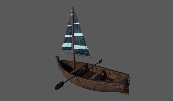 row boat model