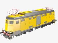locomotive train 3D