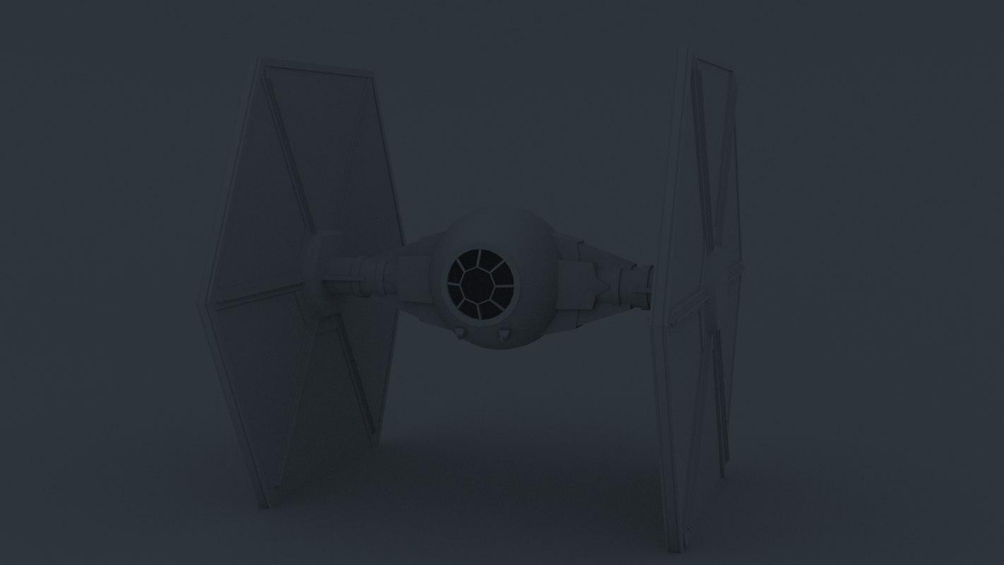 starfighter 3D model