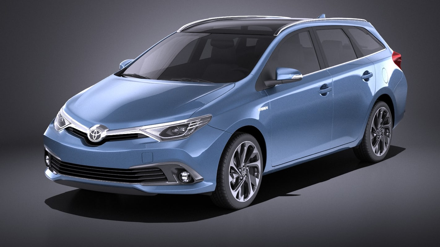 toyota sports touring 3D