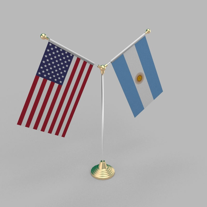 3D table friendship flag
