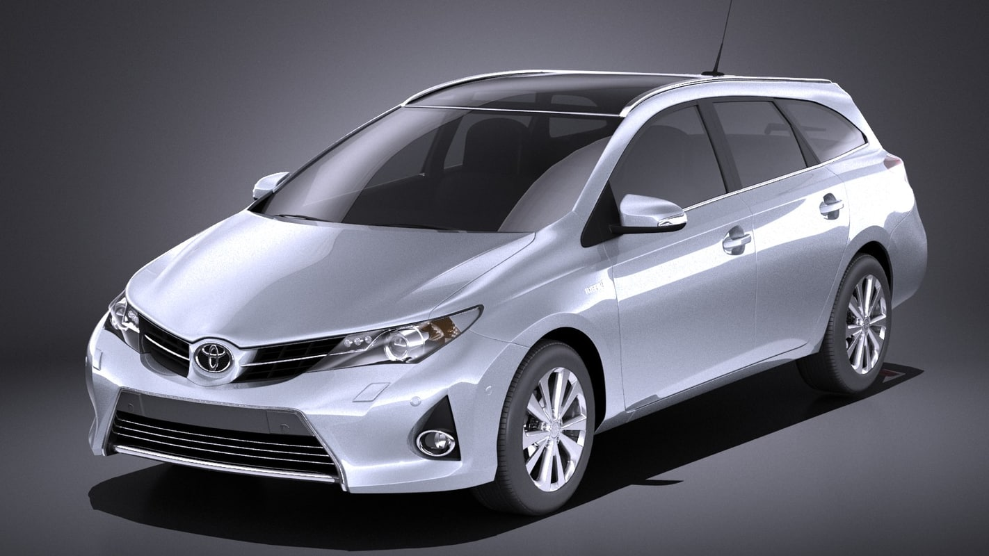 toyota auris touring 3D model
