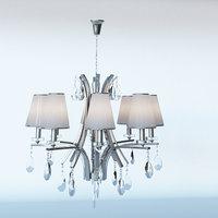 GLAMOUR W8 WHITE - Lumina Deco