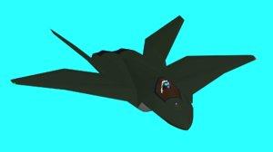 3D f3br - abutre model