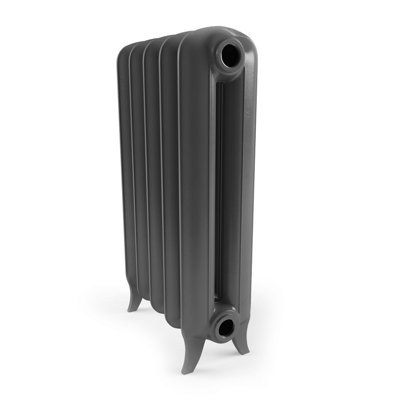 3D cast iron radiator