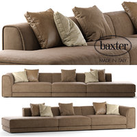 3D baxter rafael sofa composition model