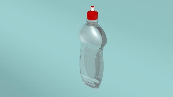 3D dish soap plastic