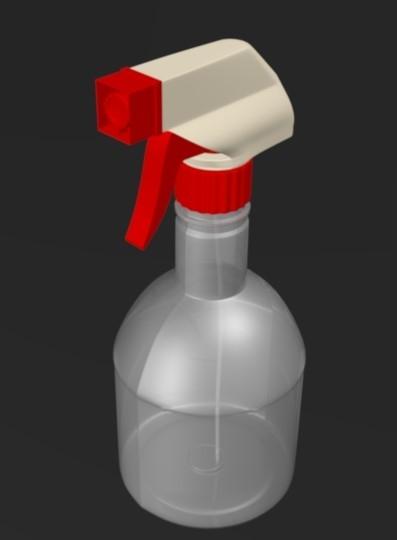 plastic sprayer model