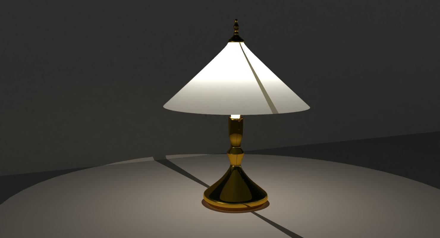 touch lamp 3D model