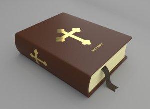 holy bible 3D