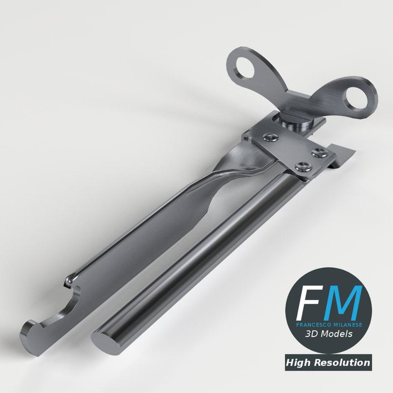 3d model of opener 1 hr