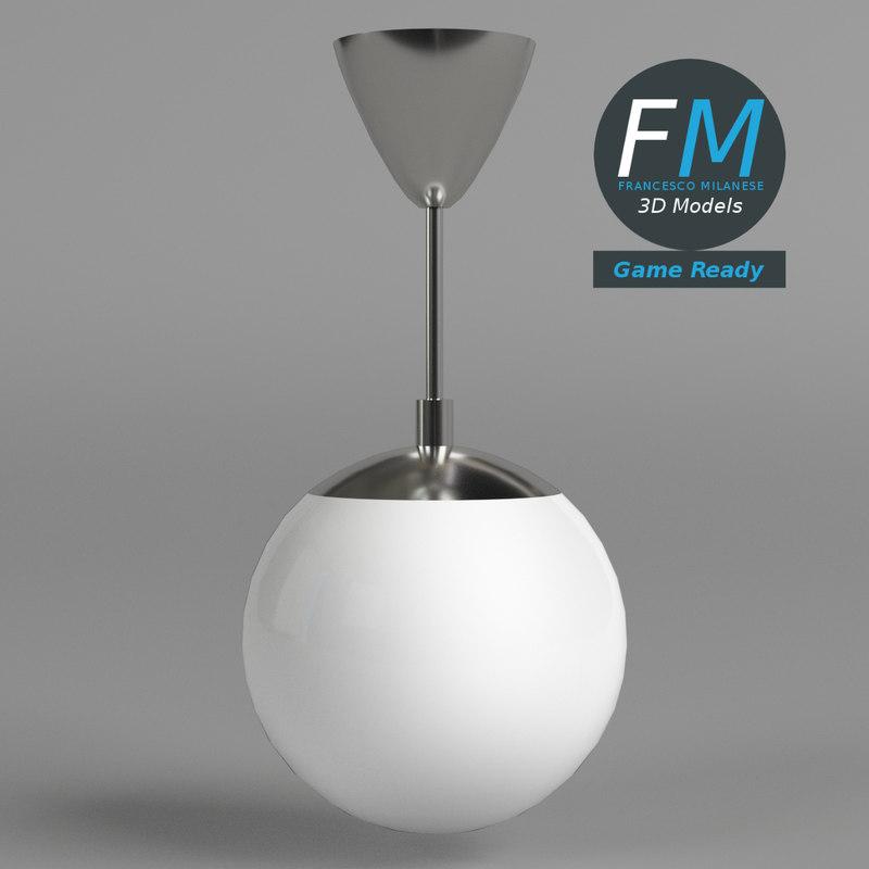 3D ceiling lamp gr model