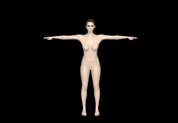 age woman 3D