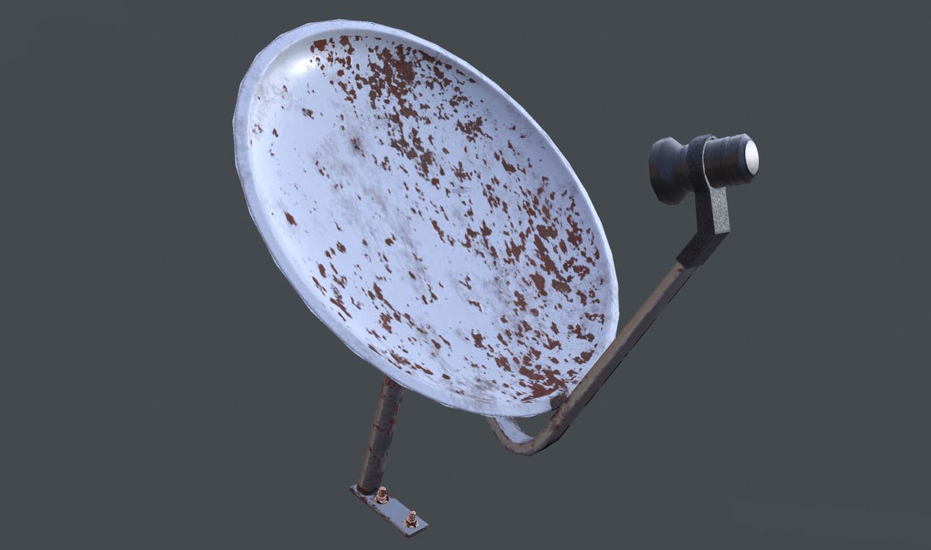 antenna pbr 3D model