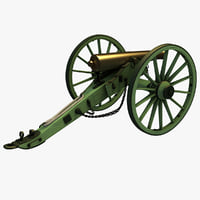 Civil War Model 1857 12-Pounder Napoleon Field Gun