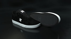 dc shoe black - model