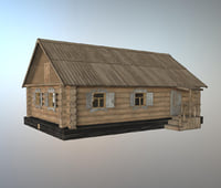 house wood old model