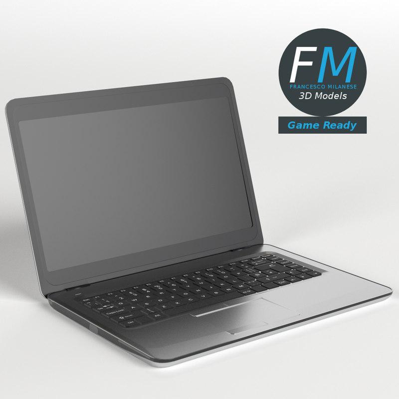 3D laptop computer gr