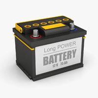 3D auto battery