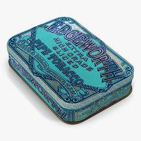 3d vintage tobacco tin 2