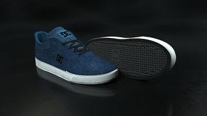 3D dc shoe blue -