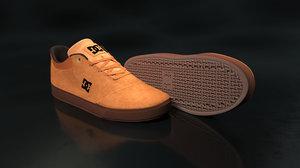 dc shoe brown - model