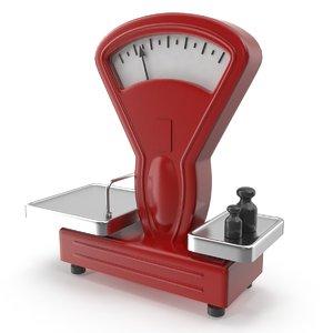 maya shopping scales