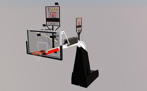 basketball hoop 3D