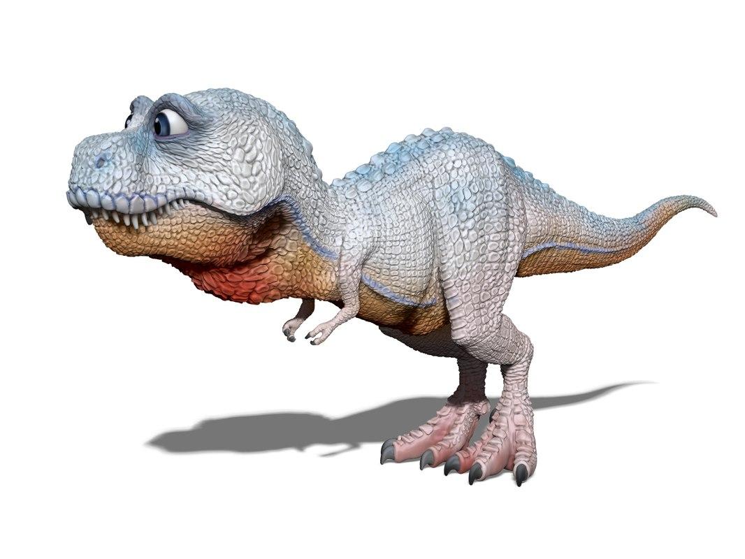 3D dinosaur model
