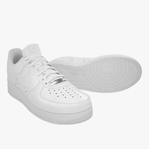 3D nike air force 1