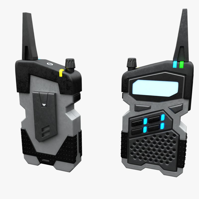 sci-fi radio 3D