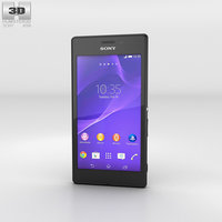 3D model sony xperia m2