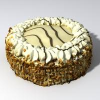 torte nuts 3D