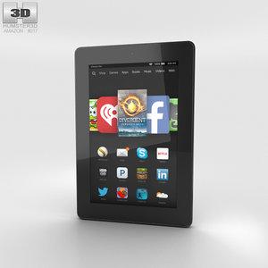 3D hd 7 amazon model