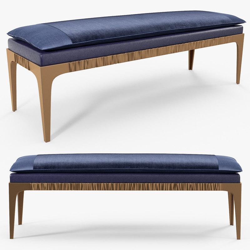 3D promemoria - montagu bench model