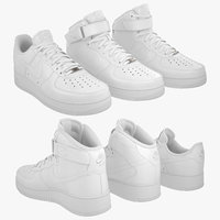 3D model nike air force 1