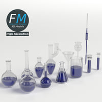 Laboratory Glassware Set HR