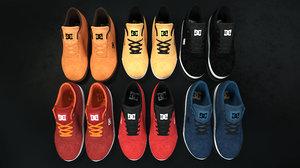 6 dc shoes - 3D