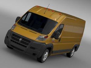 3D ram promaster cargo 2500