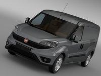 3D fiat doblo cargo maxi model