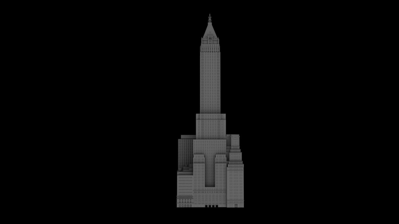 3D model bank manhattan