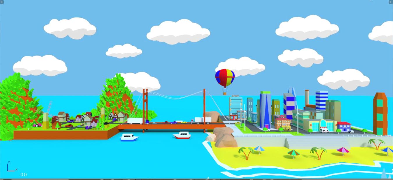 city games model