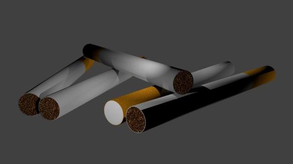 cigarette model