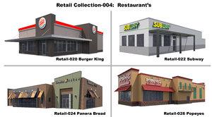 exterior restaurant 3D