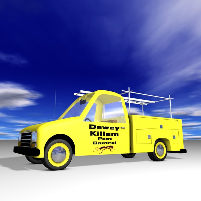 3D truck utility model