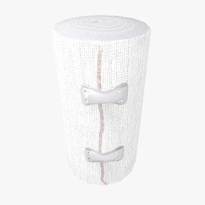 bandage clips 3D model