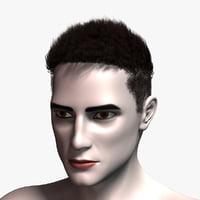 3D hair cards 1