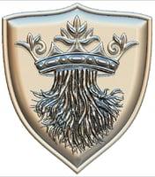 medieval shield cnc stl file model