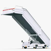 passenger steps tld abs-580 3D