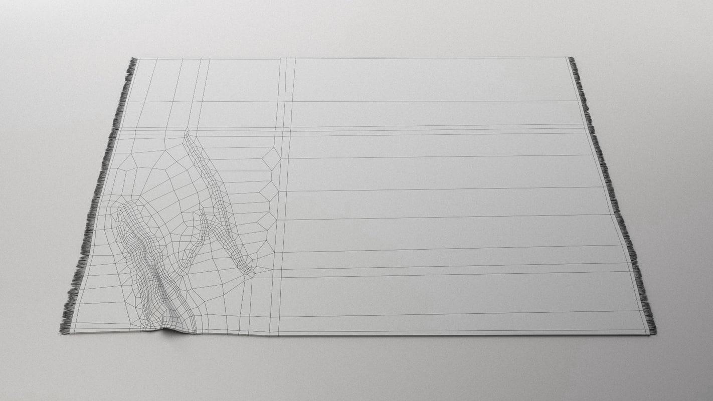 3dSkyHost: 3D Carpet Model 05 Free Download